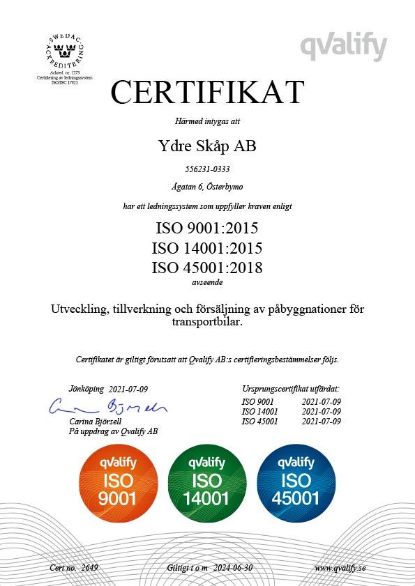 certifikat FR 2000